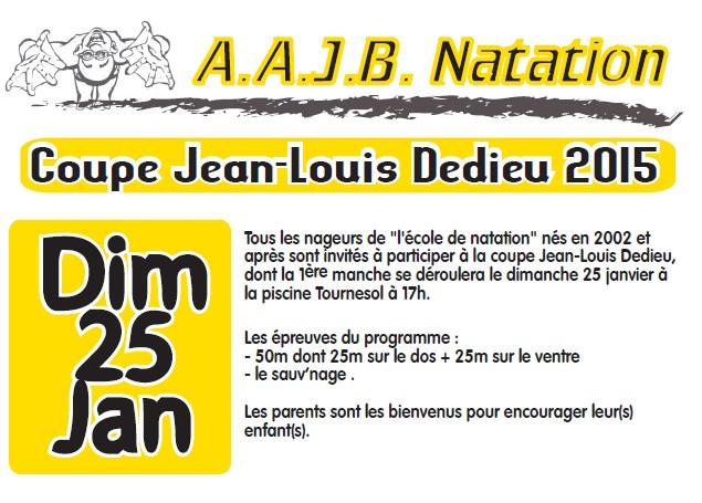 News aajb natation for Piscine tournesol blois